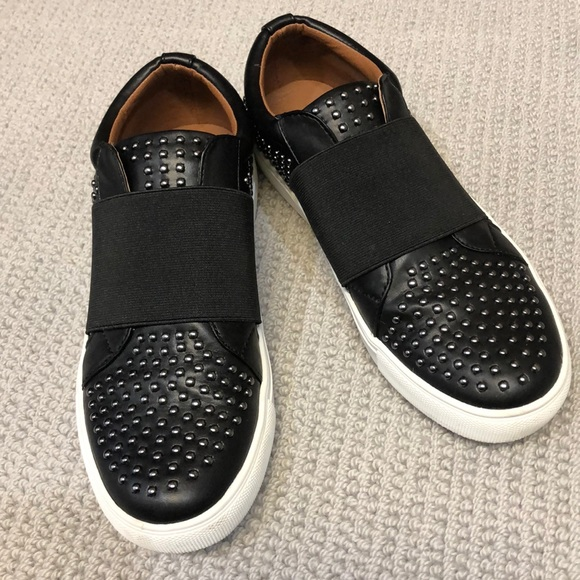 Report Slip On Studded Sneakers